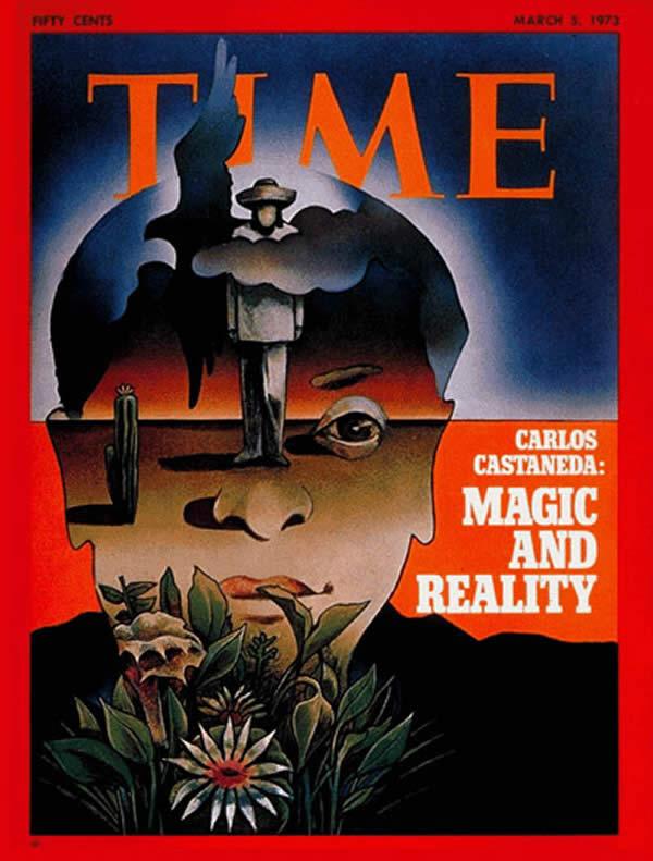 Copertina di TIME, marzo 1973: Carlos Castaneda, Magia e Realtà
